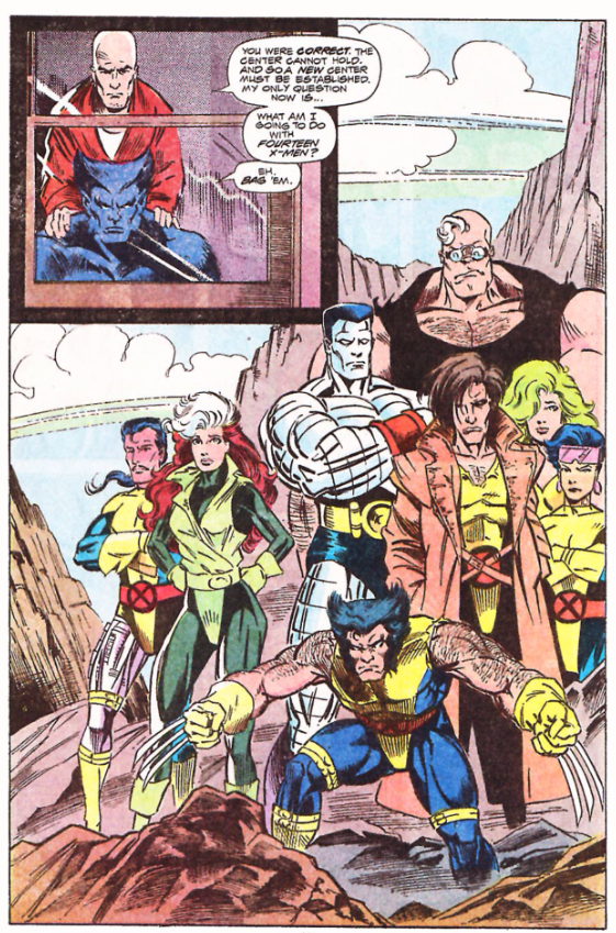X-Factor #70 - Fourteen X-Men